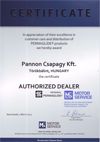 PERMAGLIDE Certificate